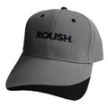 Roush Gray/Black Split Hat (3467)