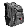 Roush Square R Gray/Black OGIO Backpack (3493)