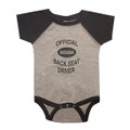 Roush Heather Gray/Smoke Back Seat Driver Onesie (3486)