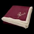 "Roush Maroon 50"" x 60"" Sherpa Blanket (3491)"