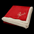 "Roush Red 50"" x 60"" Sherpa Blanket (3490)"