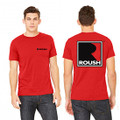 Roush Unisex Red Square R T-Shirt (3476)