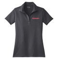 Roush Ladies Gray Breathable Polo #2 (3528)