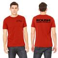 Roush Unisex Dark Red Ingenuity Tee (3553)