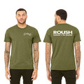 Roush Unisex Heather Olive Ingenuity Tee (3554)