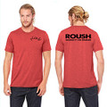 Roush Unisex Heather Raspberry Ingenuity Tee (3556)