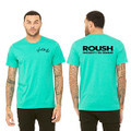 Roush Unisex Heather Sea Green Ingenuity Tee (3558)
