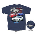 Mustang Red, White & Blue Flag Tee (3571)