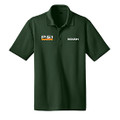 Roush P-51 Green Snag Resistant & Moisture Wicking Polo (3573)