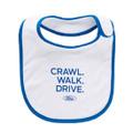 """Ford """"Crawl, Walk, Drive"""" Bib (3625)"""