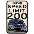 Nascar Speed Limit 200 Sign (3654)