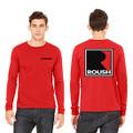 Roush Unisex Red Square R Long Sleeve Shirt (3671)