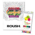 Driven to Dream Coloring Book & Colored Pencils (3700)