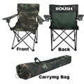 Roush Camo Folding Chair with Cup Holders (3708)