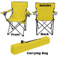 Roush Yellow Folding Chair with Cup Holders (3715)