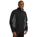 Roush Lightweight Black/Gray Jacket (Fitted Jacket; May Run Small) (3759)