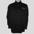 Roush Mens Black Long Sleeve Dress Shirt (1443)