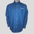 Roush Mens French Blue Long Sleeve Dress Shirt (1446)