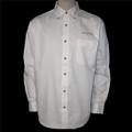 Roush Mens White Long Sleeve Dress Shirt (1449)