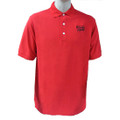 Roush Racing Mens Red Polo (Black Logo) (1473)