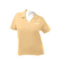 Roush Ladies Butter Polo with tone on tone (1587)