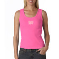 Roush Racing Pink Ladies Ribbed Tank Top (1607)