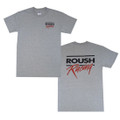 Roush Racing Mens Gray Tee (1732)
