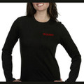 Roush Ladies Black Long Sleeved Knit Tee (1861)