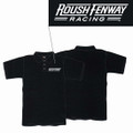 Roush Fenway Mens Black Polo (1997)