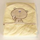 Nursery Embroidered Bamboo Fiber Baby Wrap Baby Bear