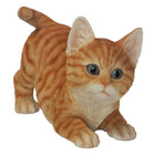 19CM Kitten Playing Polyresin Garden and Home Decor