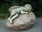 45CM Fairy Sleeping Polyresin Garden and Home Decor
