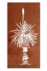 140CM Grass Tree Laser Cut Wall Art Steel Garden and Home Wall Decor