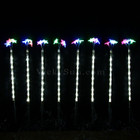 8 Pcs 47CM LED Christmas Star Pathway Garden Lights