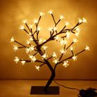 45CM 48 LED Warm White Cherry Tree Lights Christmas Wedding Decoration
