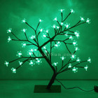 45CM 48 LED Green Cherry Tree Lights Christmas Wedding Decoration