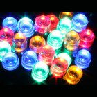 17M 200 LED Solar Multi Colours Christmas Fairy Lights