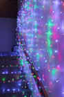 576 LED Multi Colour Wedding Curtain Backdrop Lights with Open Close Door Functions 3M X 3M