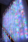 560 LED Multi Colour Curtain Lights with 10 Functions 2M X 2M