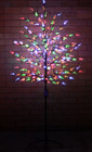 180CM 240 LED Multi Colours Tree Lights with Leaves Christmas Wedding Decoration