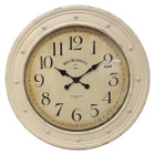79CM French Country Antique Cream Hotel Westminster Wall Clock
