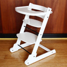 Wooden Folding Baby High Chair with Tray