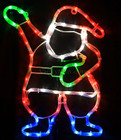 Animated 46CM LED Santa Christmas Motif Lights (36V Safe Voltage)
