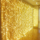 882 LED Warm White Wedding Curtain Backdrop Lights with 8 Functions & Memory 6M X 3M (IP44 Rated)