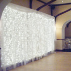 882 LED White Wedding Curtain Backdrop Lights with 8 Functions & Memory 3M X 3M