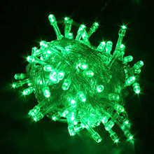 30M 350 LED IP44 Green Christmas Wedding Party Fairy Lights