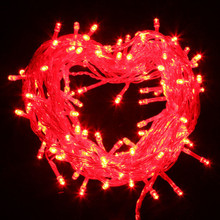 30M 350 LED IP44 Red Christmas Wedding Party Fairy Lights