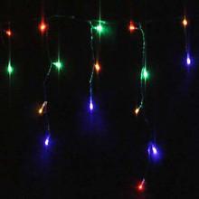 500 LED Multi Colours Christmas Icicle Lights