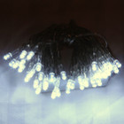 4M 40 LED White Wedding Battery Operated Fairy Lights Flash & Static for Centerpieces