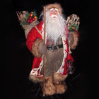 47CM Handmade Christmas Santa Claus with Lantern Ornament